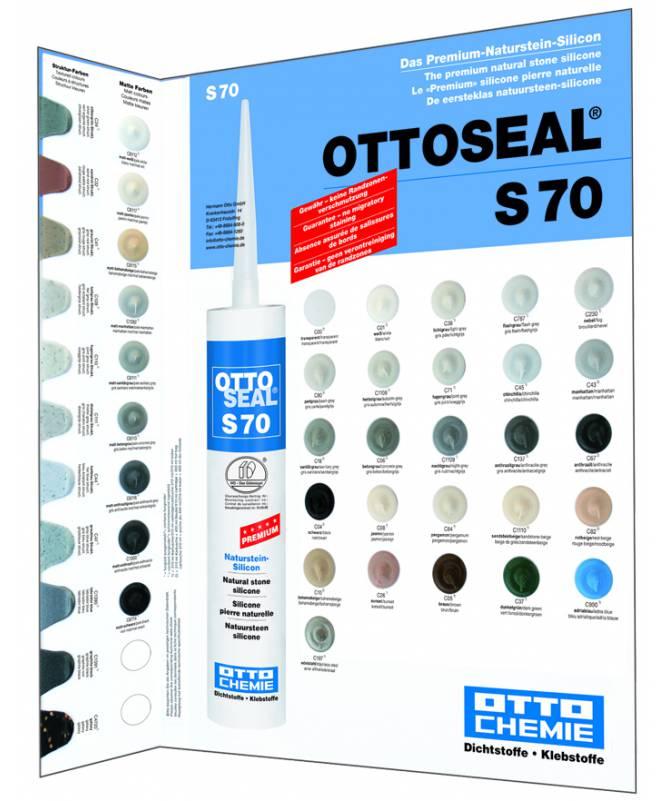 paleta kolorów wzornik ottoseal s 70